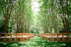How magical does this ceremony space look? {Amore Events by Cody, LLC}