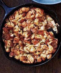 Skillet Apple Stuffing recipe