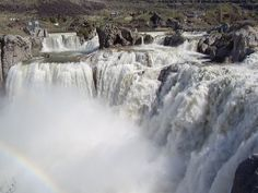 favorit place, shoshon fall, fall idaho, desert life, park, niagara falls, bois campingfish, high desert, fall cascad