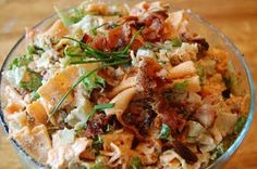 YUM - BLT pasta salad
