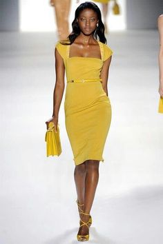 This Yellow dress is quite cute! www.missKrizia.com