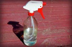 DIY Glass Spray Bottle