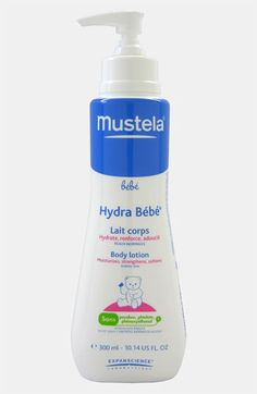 Mustela® Hydra-Bébé Body Lotion available at #Nordstrom