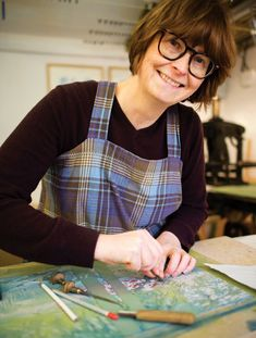 Top tips for linocut