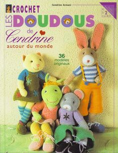 Free crochet amigurumi magazine - lots of cuties and their patterns - in French