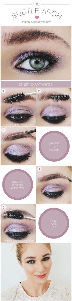 Purple eyeshadow - Lancome