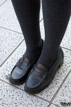 Japanese School Uniform Loafers