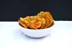 Cheesy Baked Potato Chips (Gluten Free) - Healthier steps