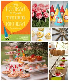 Birthday Party Inspiration Board