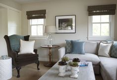 walls Benjamin Moore Manchester Tan (HC-81). It's a fantastic neutral that goes brilliantly with natural linen.