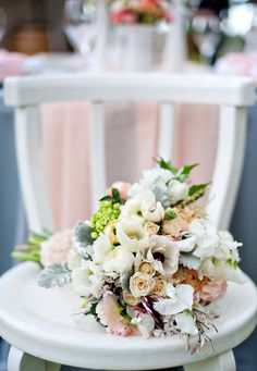 a lovely bunch of pastel colored florals  Photography by http://emmasharkey.com, Floral Design by http://bloomingbridal.com.au