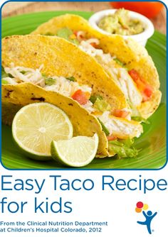 Try this easy to make taco recipe from our nutrition experts!
