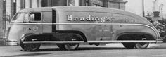 Streamlined Beer Truck. No Year or make