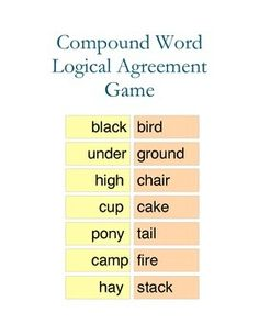 Compound Word Logica