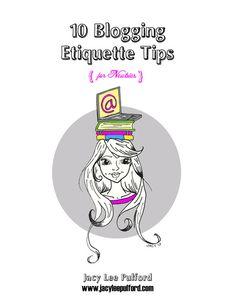 10 Blogging Etiquette Tips for Newbies, eBook