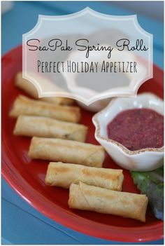 SeaPak Spring Rolls are the Perfect Holiday Appetizer #PakTheParty #Shop #Cbias