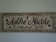 another plaque idea
