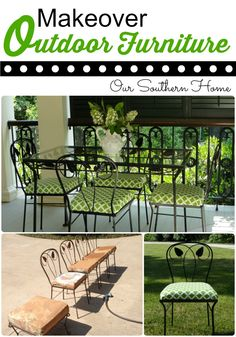 Outdoor Fabric Updates with Online Fabric Store via Our Southern Home
