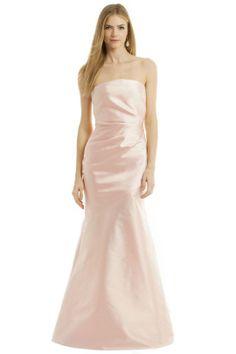 pamella roland Think Pink Gown