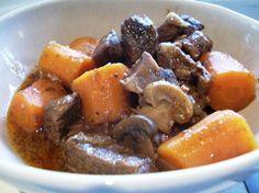 Boeuf Bourguignonne/Beef Burgundy (Crock Pot or Not)