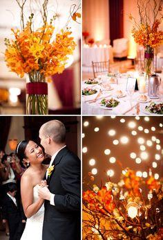fall flower arrangements & centerpieces