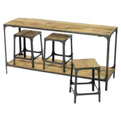 Clifton Console and Stools