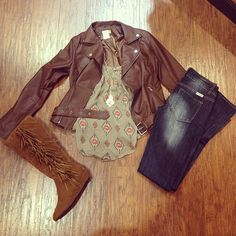 Cute Fall Outfit but with different boots, please :)