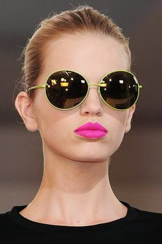 fashion weeks, poker face, glass, pink lips, lip colors, lime, lip colour, shade, lipstick colors