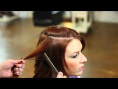 Awesome! Curling Hair with Flat Iron (Parlour & Juke)