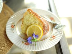 Lavender Lemon Bundt Cake