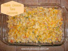 Double Cheese #Tuna Casserole #Recipe
