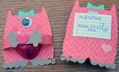 Crafty Little Bling: Some unusual Thank You notes.....