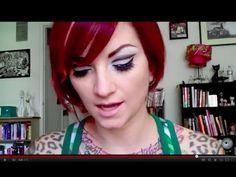 1960s makeup, makeup tutorials, 1960s twiggi, cherri dollfac, vintag 1960s