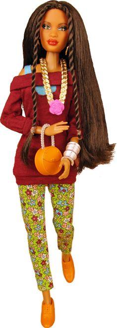 One World Doll Project. Prettie Girl Dahlia