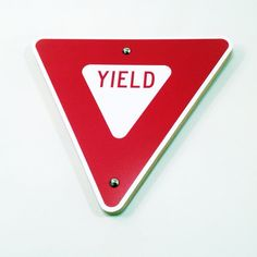 Yield Street Sign
