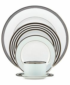 FAVE! Kate Spade New York Parker Place 5 Piece Place Setting