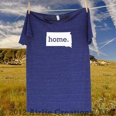 South Dakota Home State T-Shirt