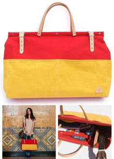 Me&Arrow Canvas Weekender  | 29 Ideal Travel Bags For Your Next Trip