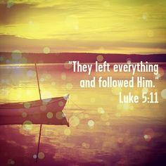 Luke 5:11