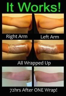 Body Wraps Before and After! Get those arms back....go from flab to fab! www.jenniferdavis.myitworks.com