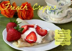 Cooking with Kids....Come join us as we travel to France this month (April) in our Around the World in 12 Dishes series where we made French Crepes.  Check out our link up and see how 10+ bloggers take their kids on a journey to learn about other foods in various countries.  Make sure you bookmark our page so you don't miss out on our next journey  to Finland...