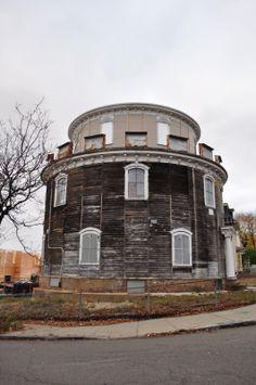 Abandoned round house, Somerville
