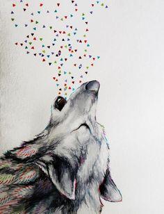 Wolf howling. Reno Web Design #renowebdesign www.renowebdesigner.com  website design, logo design, web hosting & social media.