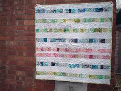 Idea for all of the baby quilt gifts I need to make.