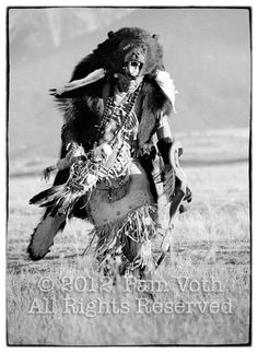 Bear Dancer was photographed on the Flathead Indian reservation in Montana~LOVE this!!!