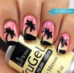 Palm Tree Nails  - a roundup