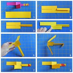 DIY Toy: Paper Helicopter - Babble Dabble Do