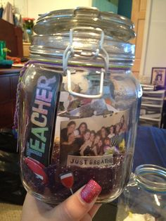 memory jars for housewarming! DIY tutorial