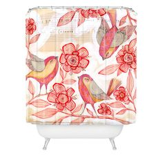 Cori Dantini Sprinkling Sound Shower Curtain | DENY Designs Home Accessories