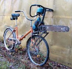 even with a girls frame, this is a man's bike! perfect for the #zombie apocolypse.